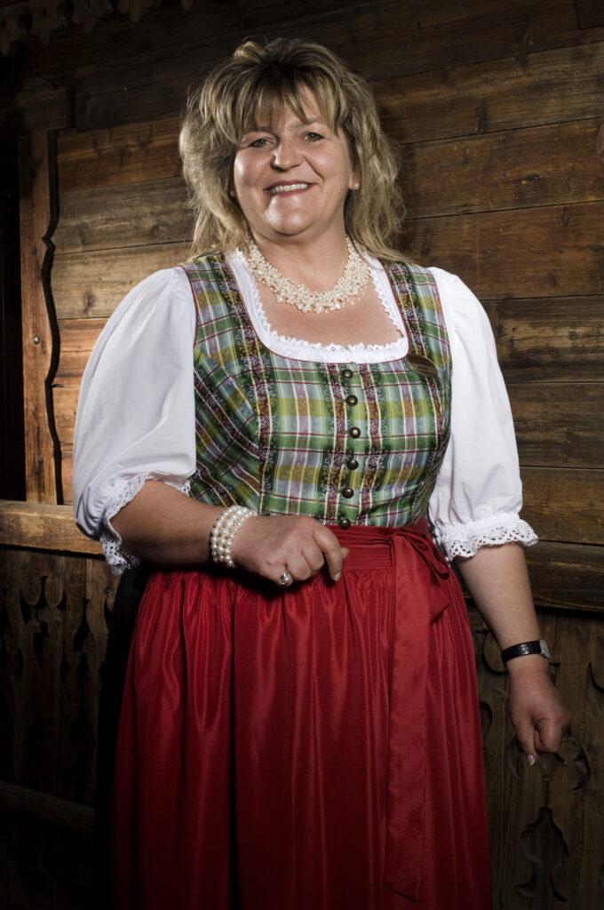 Schwanner Wirt - Die Wirtin des Hauses Theresia Streiter